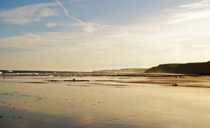 Playa del otoño imágenes de archivo libres de regalías