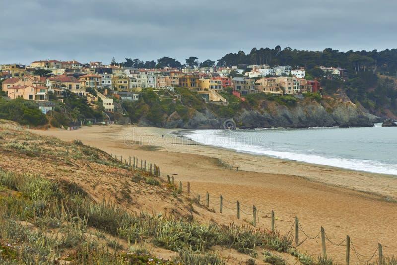 Playa del panadero, San Francisco imagen de archivo