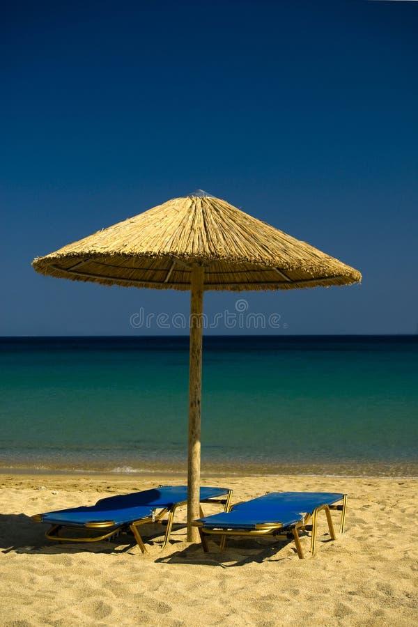 Playa del paraíso foto de archivo