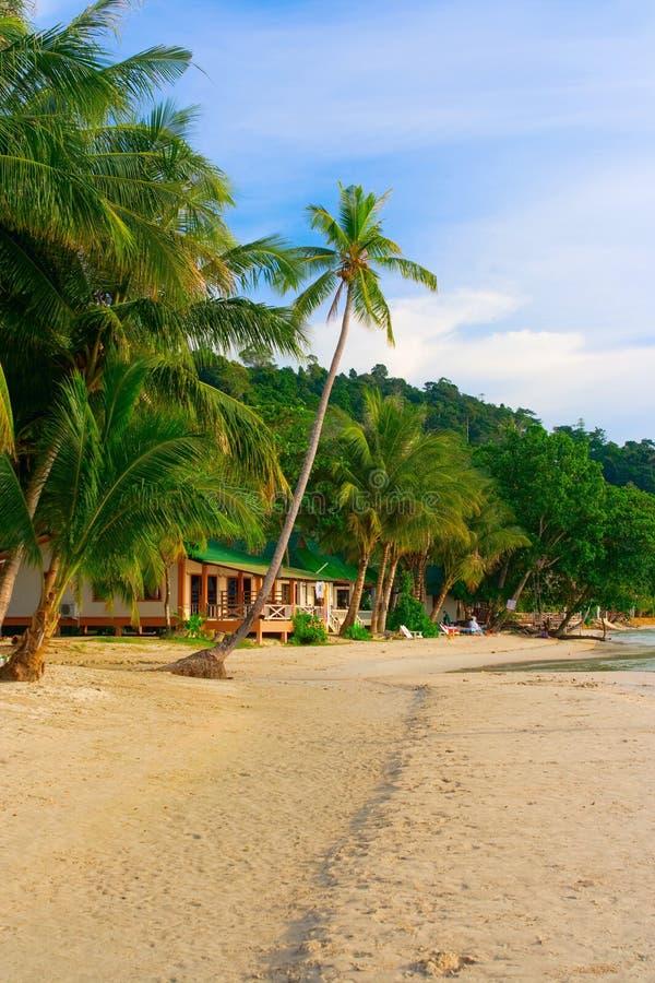 Playa del paraíso imagen de archivo