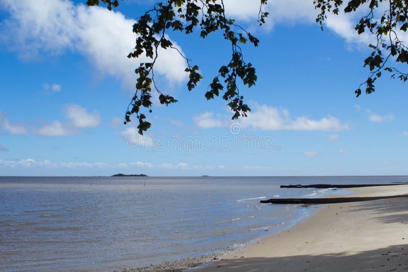 Playa del ` s de Colonia uruguay foto de archivo