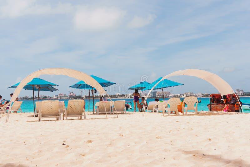 Playa del ` s de Johnny Cay fotos de archivo libres de regalías