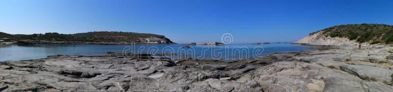 Playa del sapone de Cerdeña Cala en Sant& x27; Isla de Antioco imagen de archivo