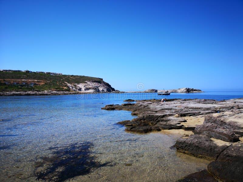 Playa del sapone de Cerdeña Cala en Sant& x27; Isla de Antioco imagenes de archivo