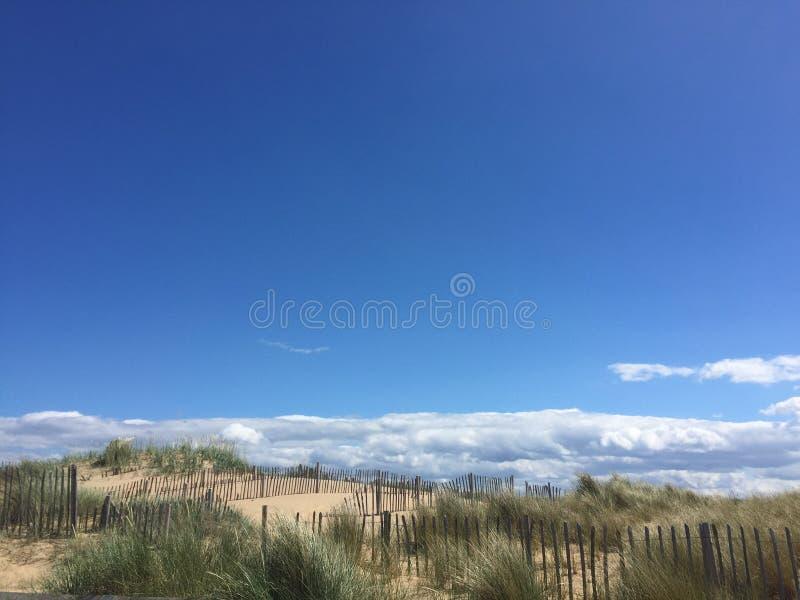 Playa del sur de los escudos imagen de archivo