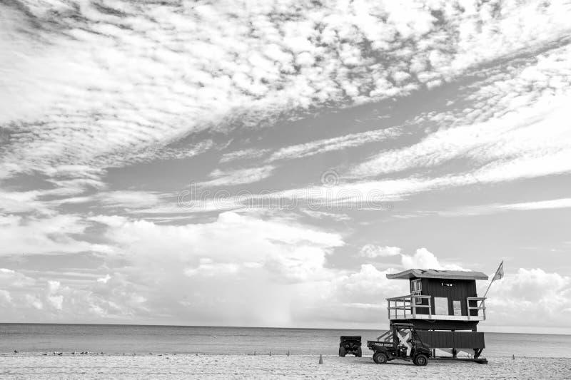 Playa del sur en Miami, la Florida fotos de archivo