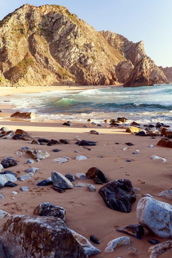 Playa del ursa de DA del Praia imágenes de archivo libres de regalías