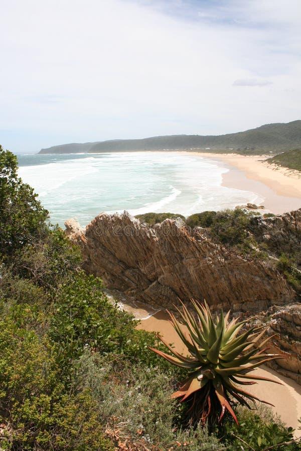 Playa del valle de la naturaleza imagenes de archivo