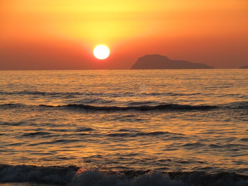 Playa determinada de Sun imágenes de archivo libres de regalías