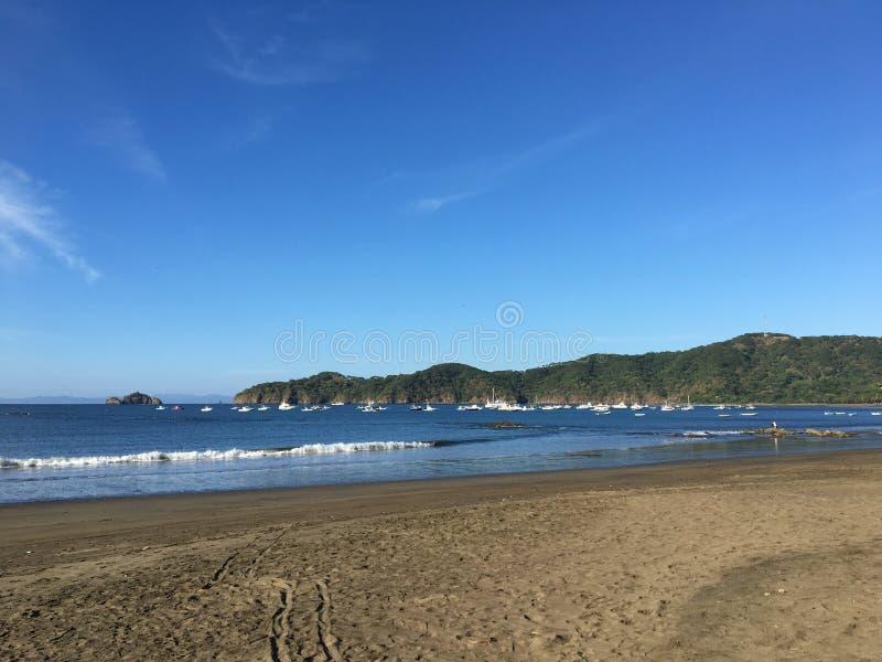 Playa El Coco at Guanacaste, Costa Rica stock photos