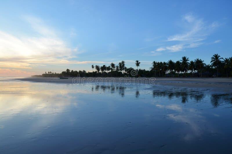 Playa EL Espino, Ελ Σαλβαδόρ στοκ εικόνες
