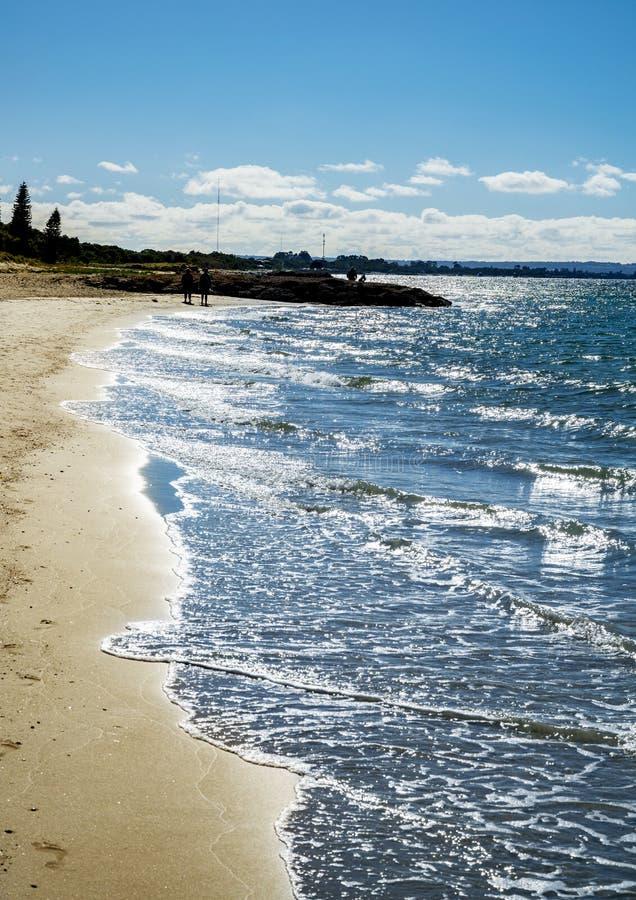 Playa en Australia occidental imagenes de archivo