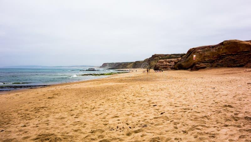 Playa en Baleal imagenes de archivo