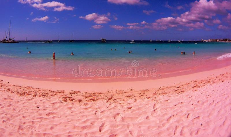 Playa en Barbados foto de archivo