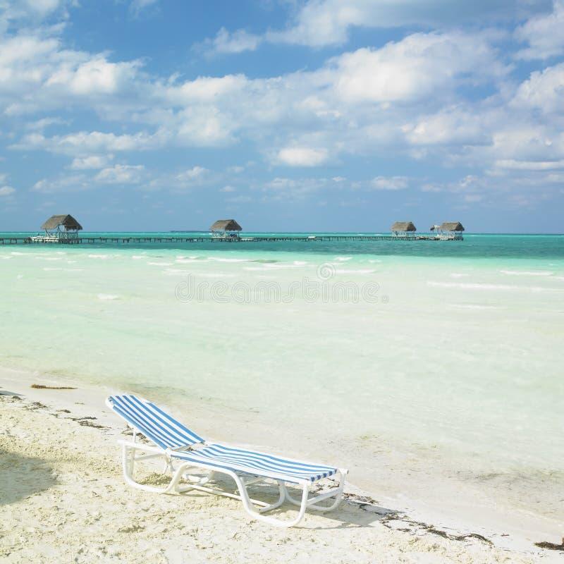 Playa en Cayo Guillermo fotografía de archivo libre de regalías