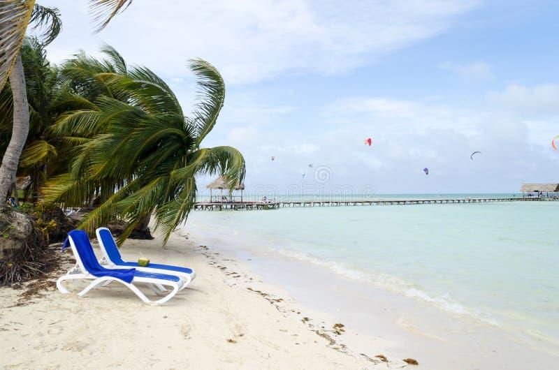 Playa en Cayo Guillermo imagen de archivo
