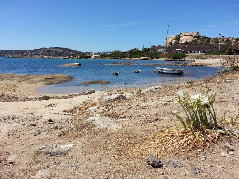 Playa en Cerdeña fotografía de archivo libre de regalías