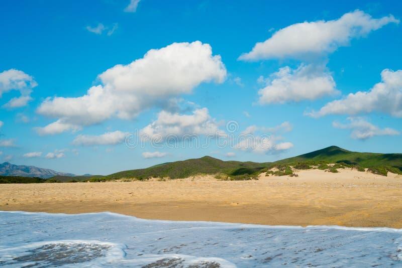 Playa en Cerdeña foto de archivo libre de regalías