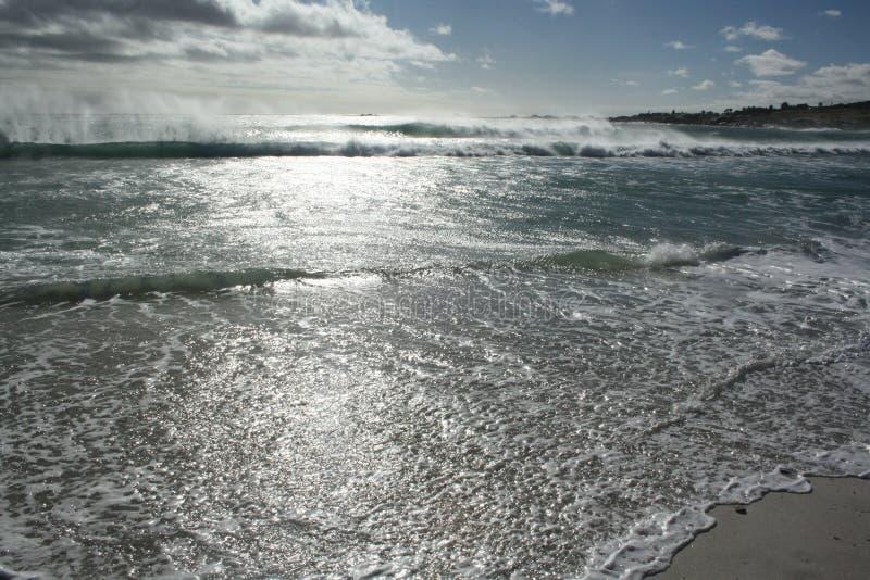 Playa en Ciudad del Cabo fotos de archivo libres de regalías