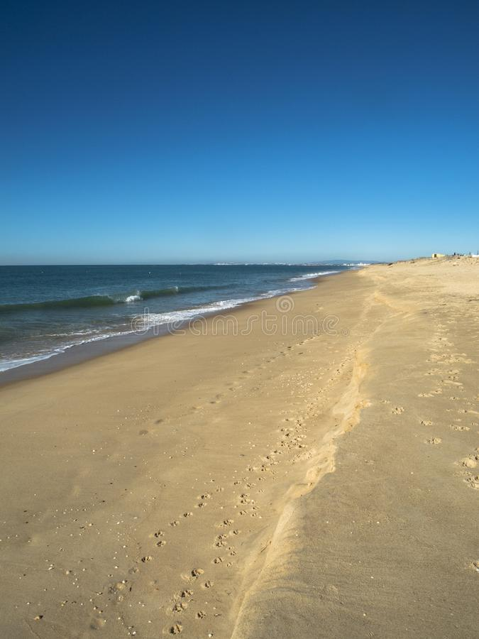 Playa en el Algarve Portugal foto de archivo