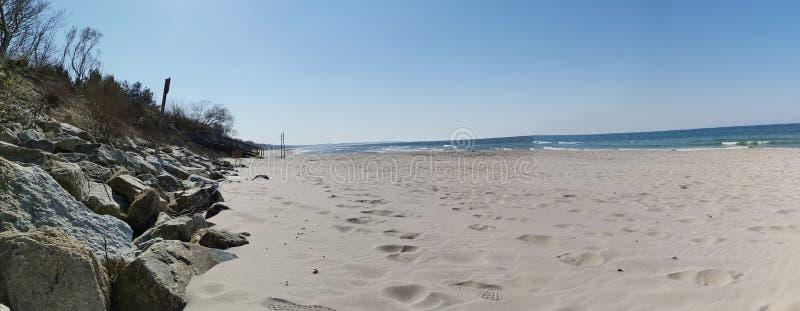 Playa en el mar B?ltico imagen de archivo libre de regalías