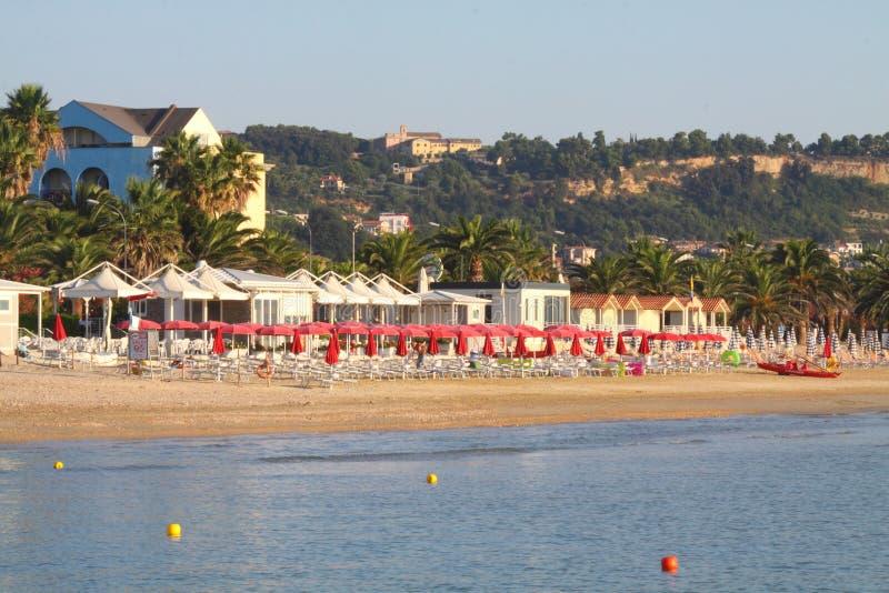 Playa en Italia fotos de archivo libres de regalías