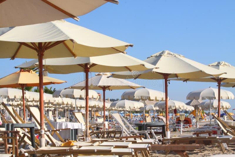 Playa en Italia fotografía de archivo libre de regalías
