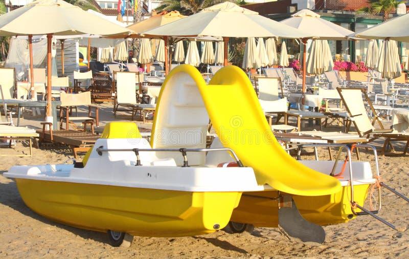 Playa en Italia fotos de archivo