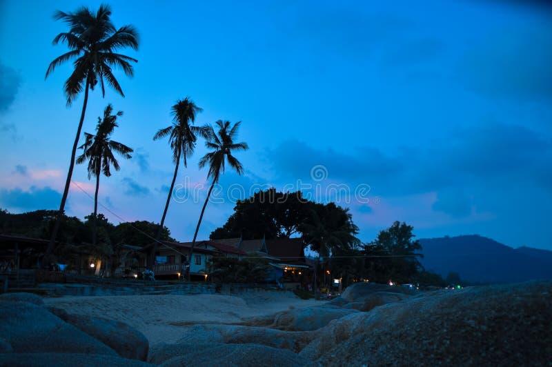 Playa en Koh Phangan fotografía de archivo libre de regalías