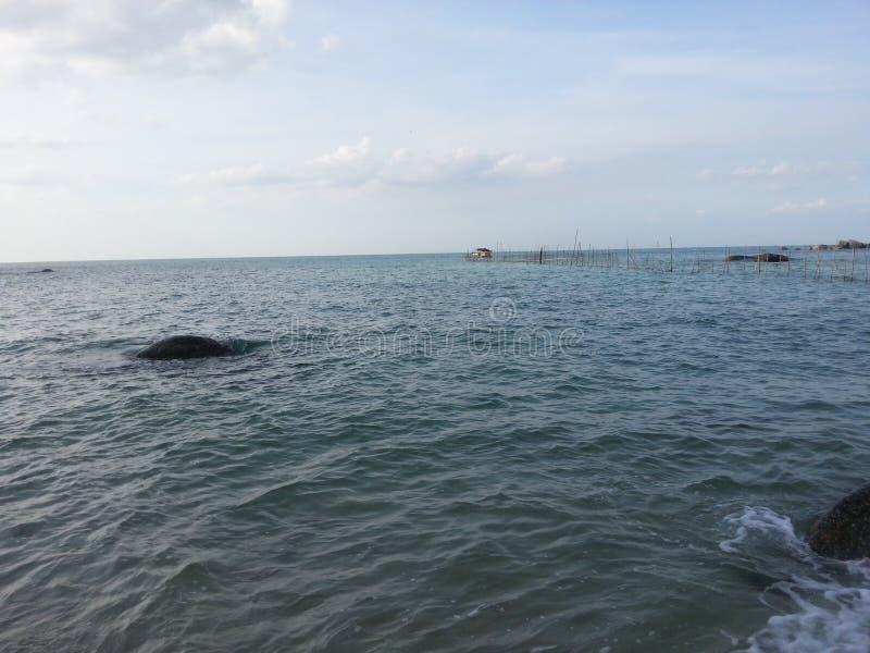 Playa en la isla de bangka fotos de archivo libres de regalías