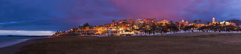 Playa en la isla de Tenerife - canario imágenes de archivo libres de regalías