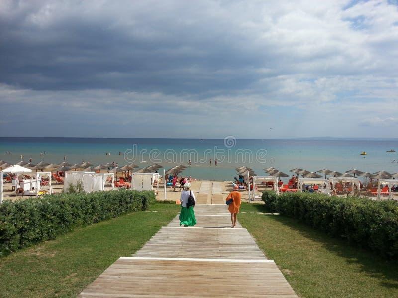 Playa en la isla de Zakynthos Grecia imagen de archivo libre de regalías