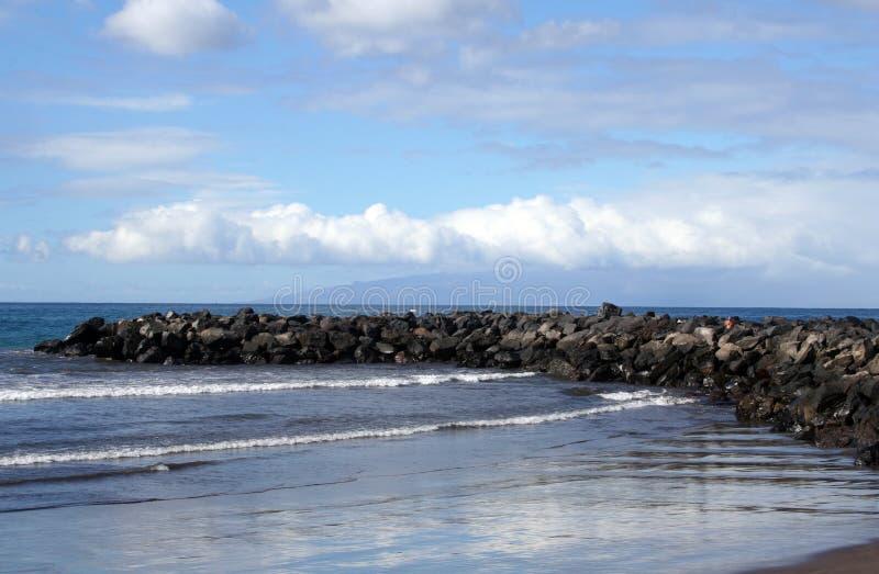 Playa en Los Christianos fotografía de archivo