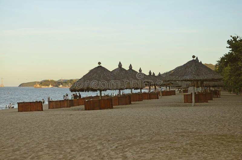 Playa en Nha Trang, Vietnam imagen de archivo