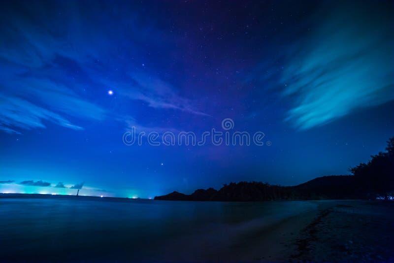 Download Playa en noche foto de archivo. Imagen de encima, majestuoso - 41921408