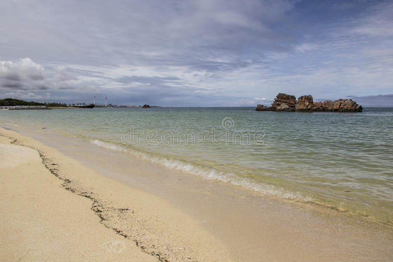 Playa en Okinawa imagen de archivo libre de regalías