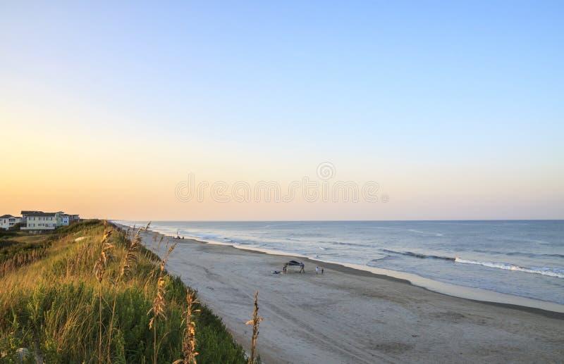 Playa en Outer Banks foto de archivo