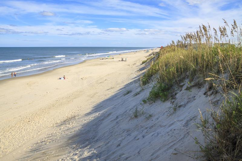 Playa en Outer Banks imágenes de archivo libres de regalías