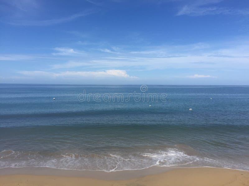 Playa en Rincon, Puerto Rico imagen de archivo