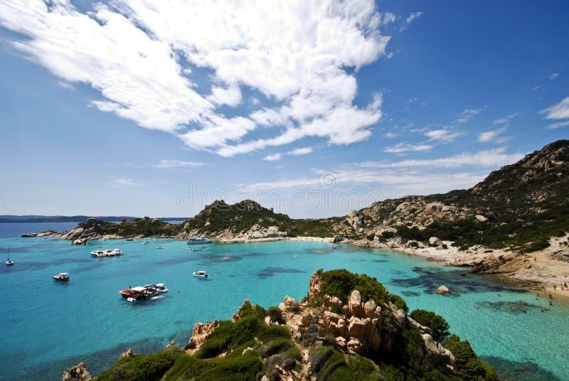 Playa en Sardenga fotografía de archivo libre de regalías