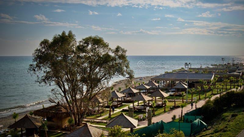 Playa en Turquía fotos de archivo libres de regalías