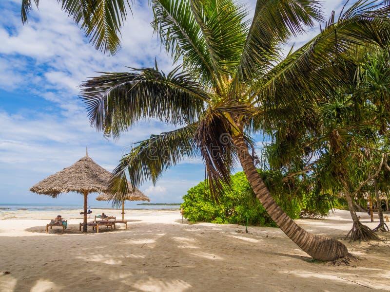 Playa en Zanzibar