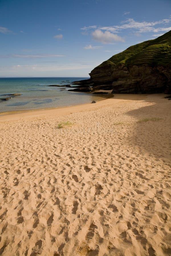 Playa escocesa imágenes de archivo libres de regalías