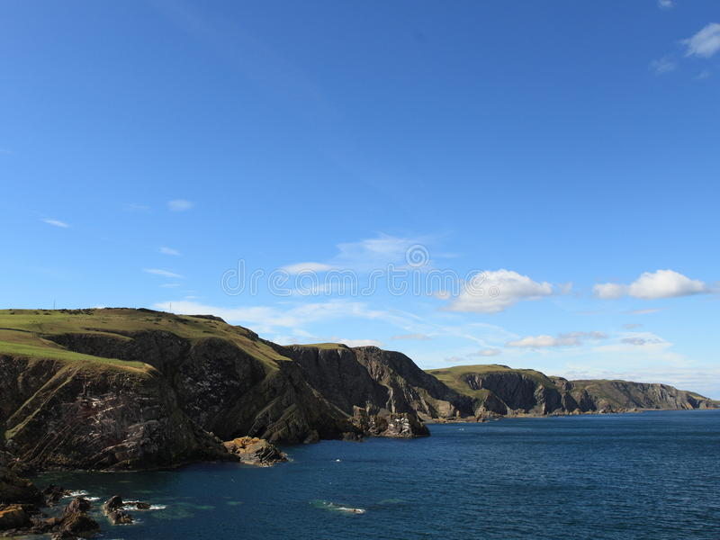 Playa (Escocia, Reino Unido) fotos de archivo libres de regalías