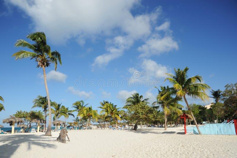 Playa Esmeralda stockfoto