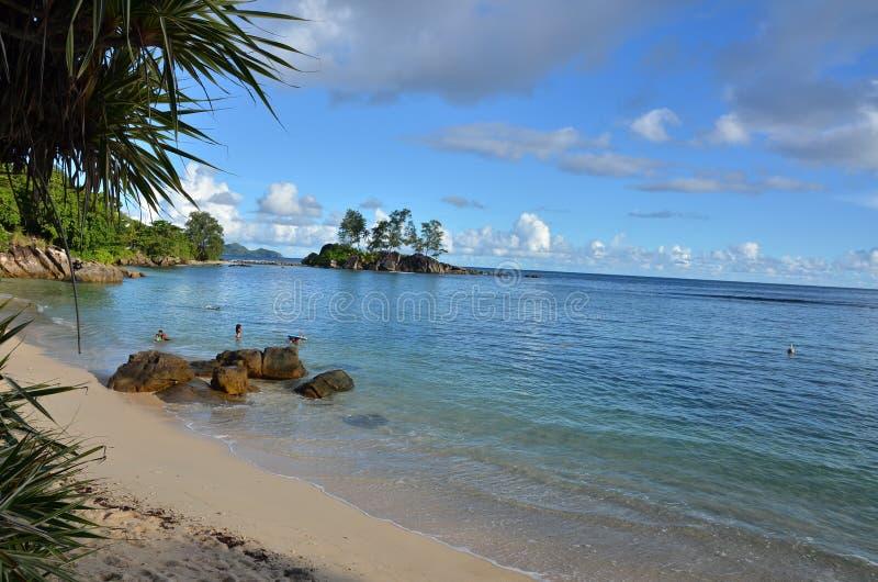 Playa exótica fotografía de archivo libre de regalías