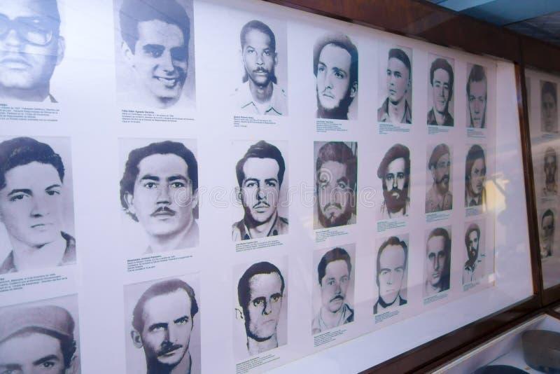 PLAYA GIRON KUBA, WRZESIEŃ, - 9, 2015: Muzeum pokazuje ciekawą opowieść w zatoce świnia atak zdjęcia royalty free