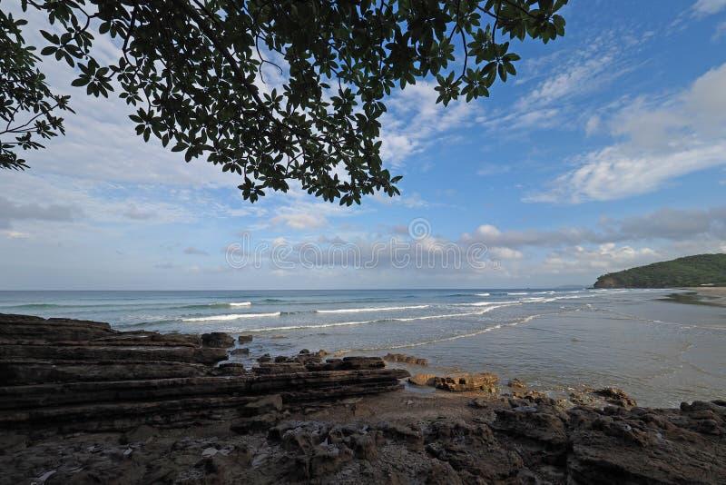 Playa Gr Coco, Nicaragua royalty-vrije stock afbeeldingen