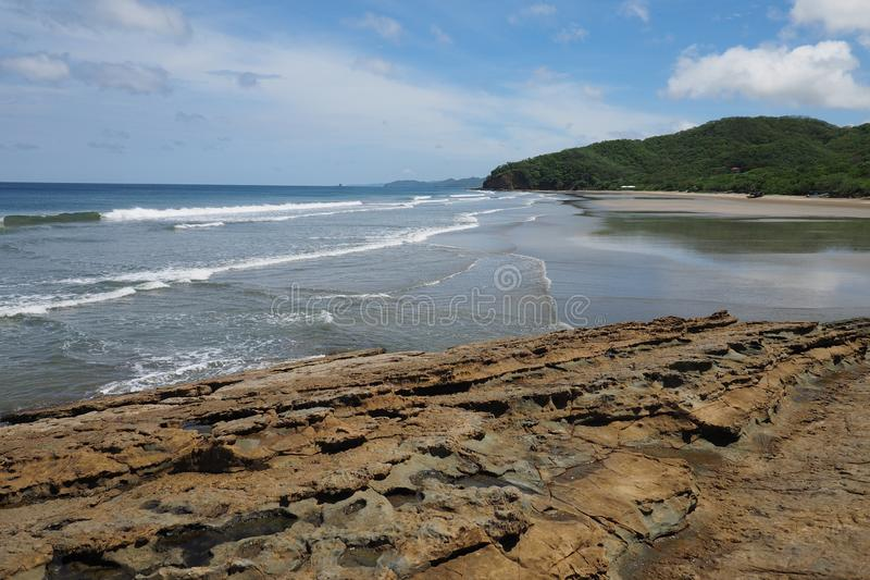 Playa Gr Coco, Nicaragua royalty-vrije stock afbeelding