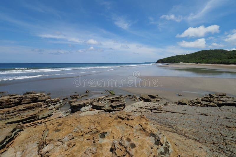 Playa Gr Coco, Nicaragua stock fotografie